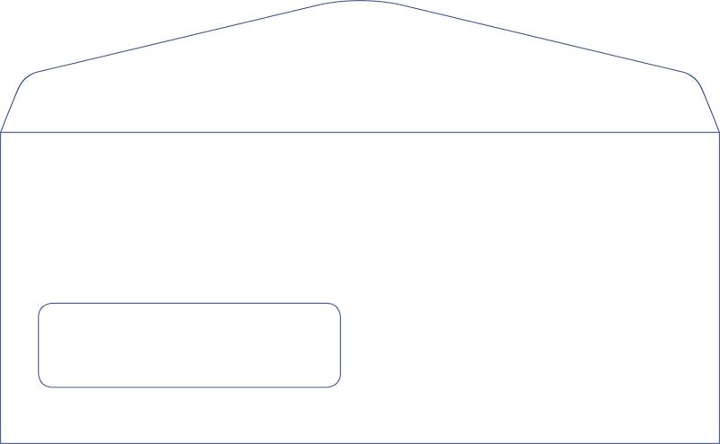 10 standard window envelope for 10 window envelope